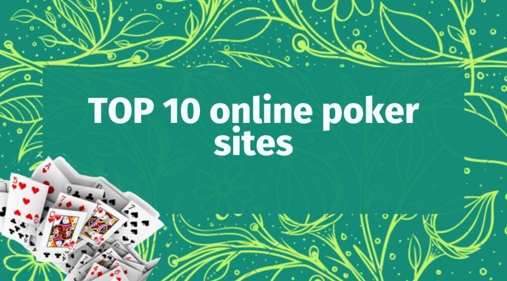 top 10 online poker sites